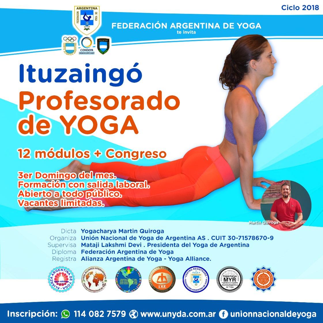 Profesorado de Yoga en Ituzaingó