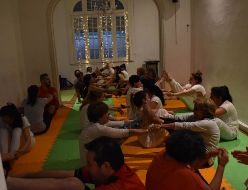 Evento de fin de año, clases prácticas de Yoga Integral y Yogaterapia