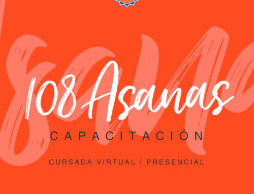 108 Asanas . Curso de formación en posturas de Yoga