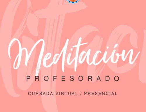 Profesorado de Meditación